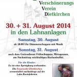 Vorschau Plakat Anlagenfest 2014