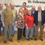 v. l. n. r. Jürgen Bender, Manfred Streb, Ludwig Schmidt, Ruth Schmitt, Mario Iltisberger, Ute Streb, Rainer Berneiser, Hans Albert, Horst Schmitt