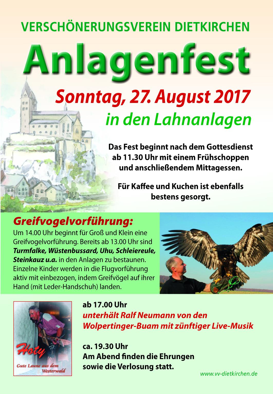 27.08.2017 Anlagenfest