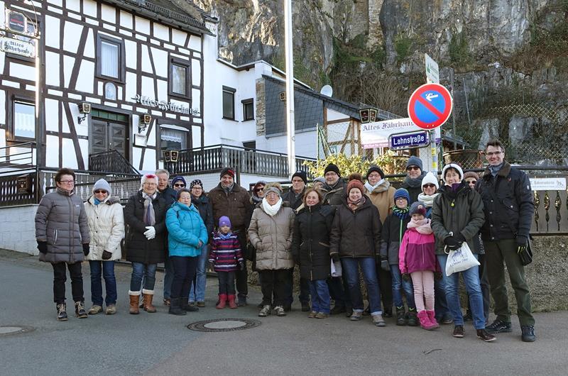 25.02.2018 Historischer Spaziergang durch Dietkirchen