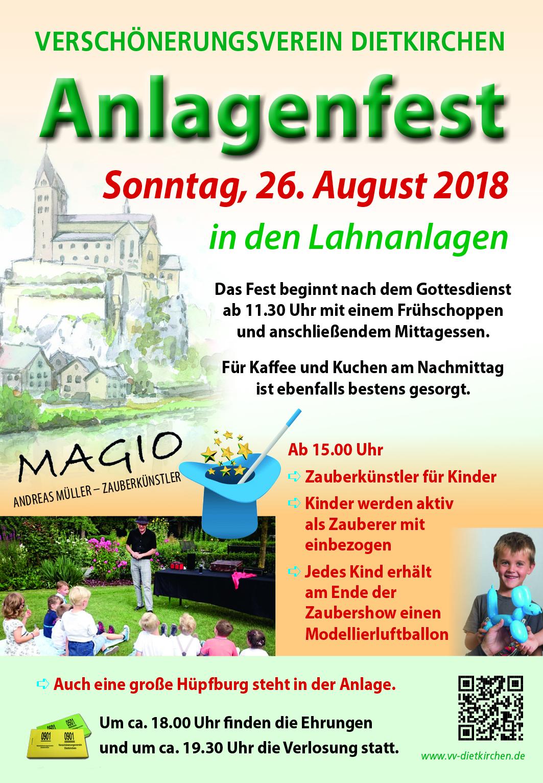 26. August 2018 Anlagenfest