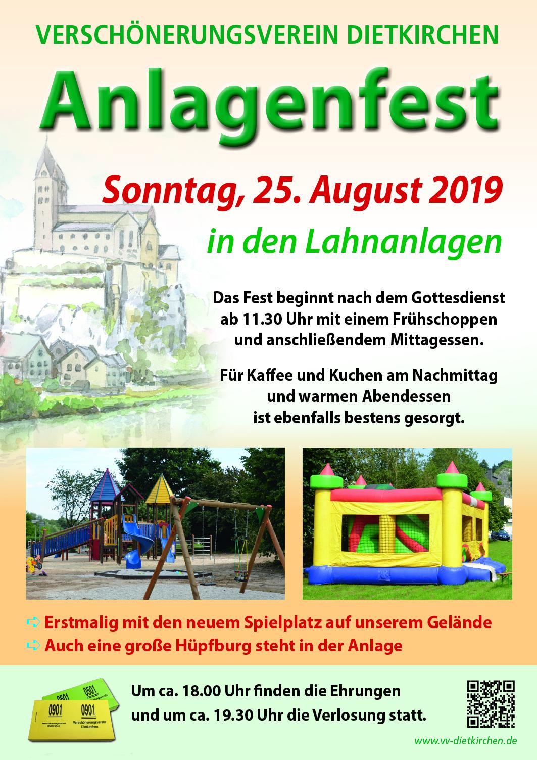25.08.2019 Anlagenfest